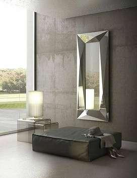 Fabrica Espejos Modernos Gran Formato Acabados Varios