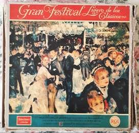 Gran Festival Ligero De Los Clásicos Libro Promo 12 Vinilos