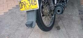Moto recien reparada