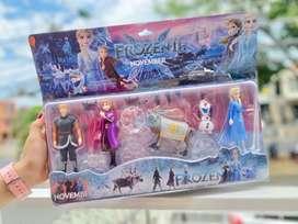 Colección juguetes frozen