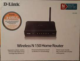 D-Link wireless N 150 home router