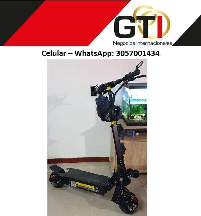 Patineta GTI KK10 super poderosa con 2000 Watts 20Ah 0