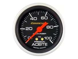 Presion De Aceite 100lbrs Orlan Rober Competicion 60mm