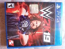 WWE 2K19 JUEGO PS4