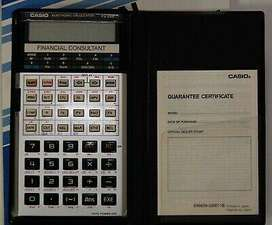 Calculadora financiera Casio FC200