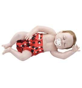 Pañal ecológico para bebé-Pepas negras