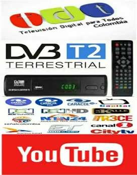 Decodificador Tdt Dvb T2 Youtube