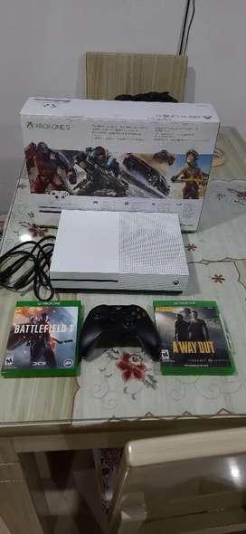 Xbox, como nuevo, no se usa, en su caja