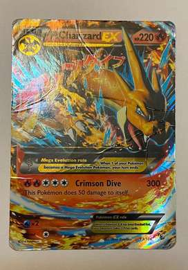 Mega Charizard Ex Pokemon Card