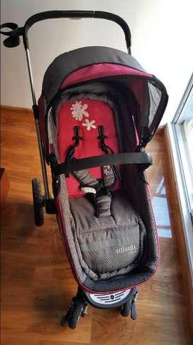 Coche de Bebé Infanty epic con silla para automóvil