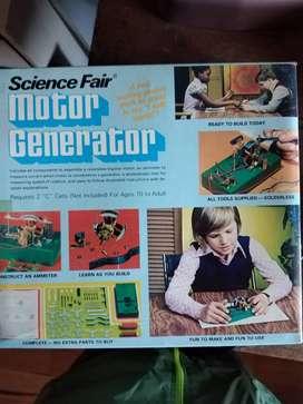 SCIENCE FAIR  Motor Generator  Kit