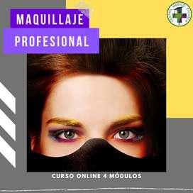 Curso online de Maquillaje Profesional en Centro Medico Escuela