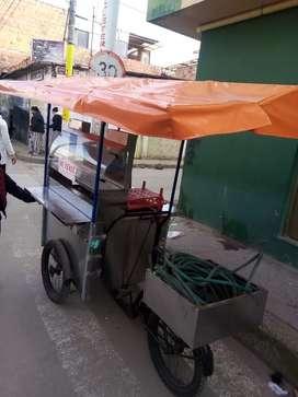 Triciclo ventas ambulantes