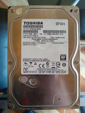 Disco Duro para pc 500 GB
