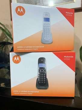 Teléfono Inhalambrico Motorola
