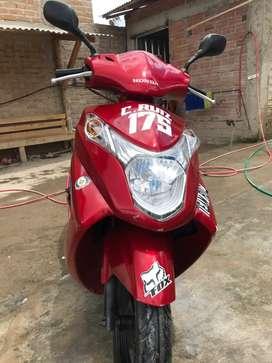 Vendo Honda Elite 125cc
