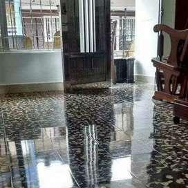 Brillada y pulida de pisos