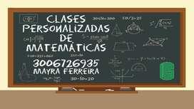 Asesoria Matematicas
