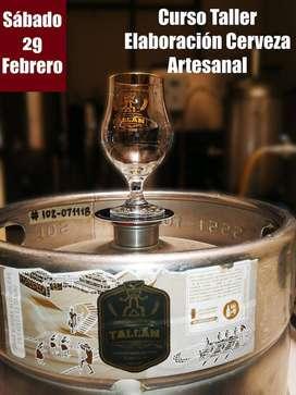 Curso Taller: Elaboración de Cerveza Artesanal