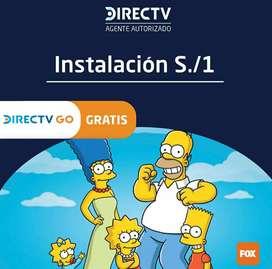 CONTRATA HOY TU SERVICIO DE DIRECT TV Y DISFRUTA EN TU HOGAR
