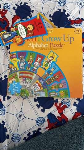 Puzzle - compecabezas de alfabeto