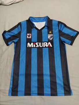 Camiseta retro Inter de Milán 1989, marcada con # 10 Matthaus
