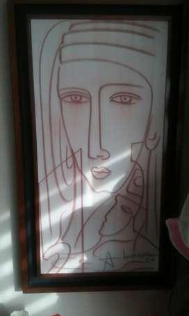 Abiezer Sangina 04 Obra Arte Cuadro