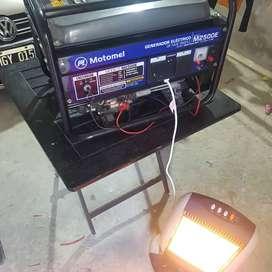 Vendo grupo electrogeno motomel modelo 2500E vendo o permutaria por smart