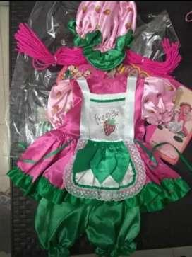 Disfraz de muñeca fresita