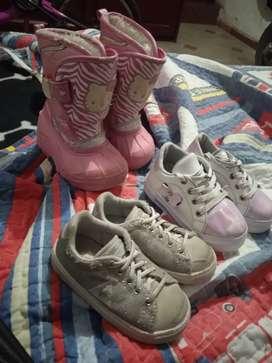 Zapatos para niña todo 80