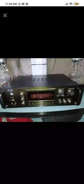 Amplificador de 1500 wtts