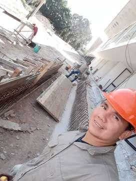 Hacemos trabajo del albañilería colocaciones de cerámico grifería de baño encofrado de columna pintura