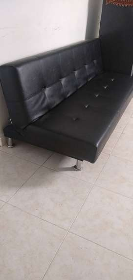SofaCama negro