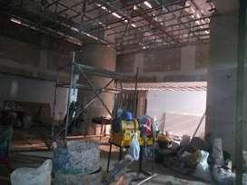 contratistas en drywall, tabiqueria , techo baldosas acusticas, coberturas .