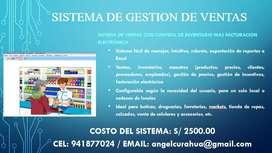 SISTEMA DE VENTAS + FACTURACION ELECTRONICA