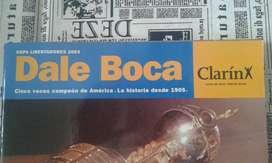 Vendo 4 Libros de Boca Antiguos