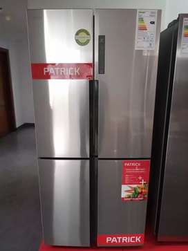 Vendo heladera Patrick NUEVA. Side by side no frost, ecoinverter, digital. A estrenar, sin uso.