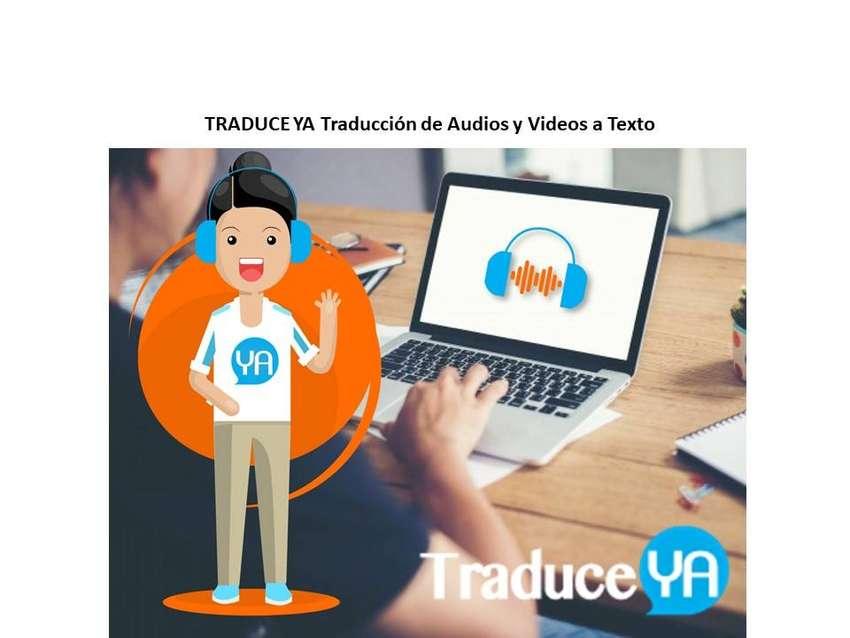 Traducción de audios y videos inglés/español 0