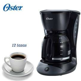 Cafetera marca oster 12 tazas