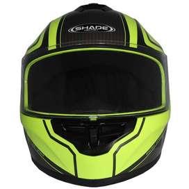 Casco | AX112 | Integral Shade Snow | Verde Neon CAS AC1A-2701