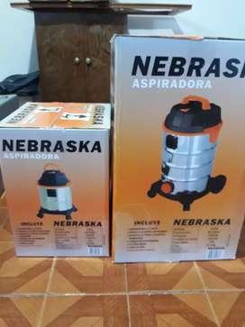 Aspiradora Nebraska chica 15 litros   liquido ultimas 2 unidades.
