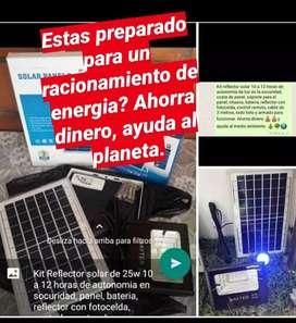 Kit reflector solar iluminacion solar
