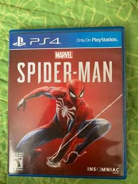 Juego spider-man para ps4