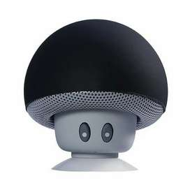 Bocina Modo Honguito Bluetooth Con Ventosa