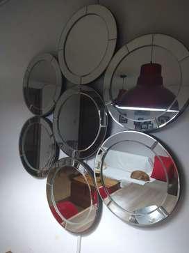Espejo círculos