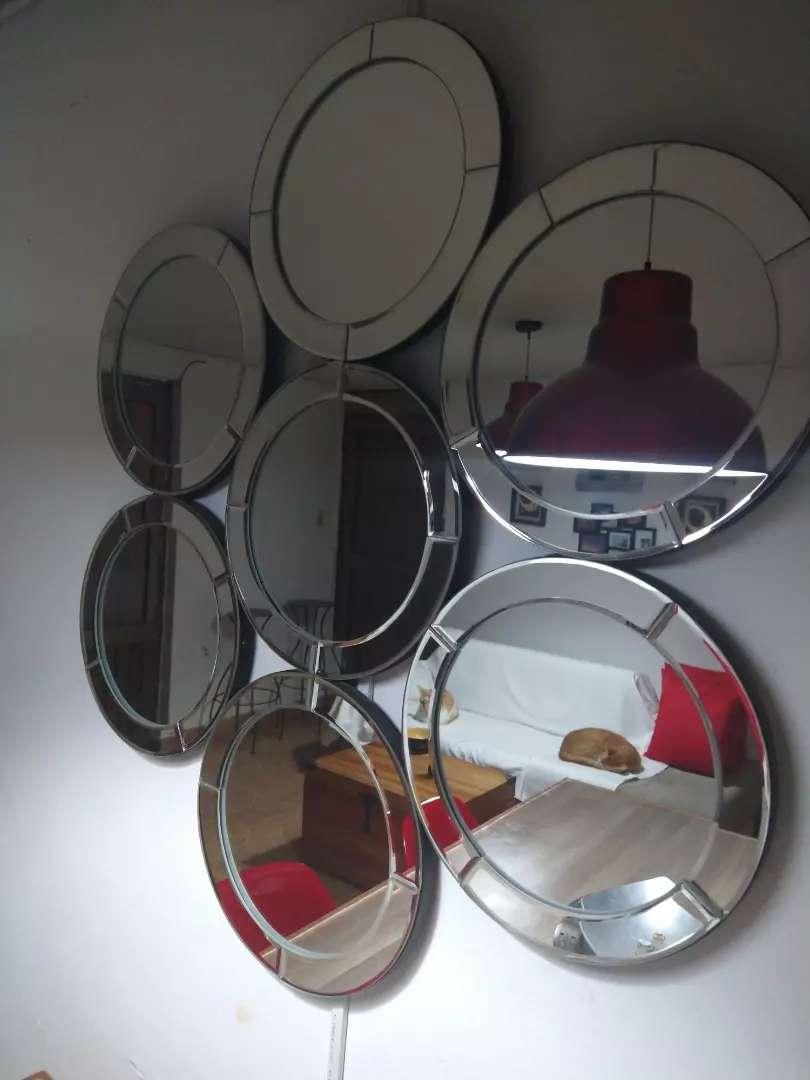 Espejo círculos 0
