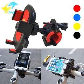 Soporte Pinza Bicicleta Bici Moto Premium Celular Gps Ipod