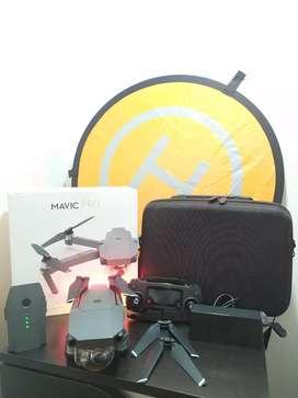 DJI Mavic pro - drone con 2 baterías y accesorios