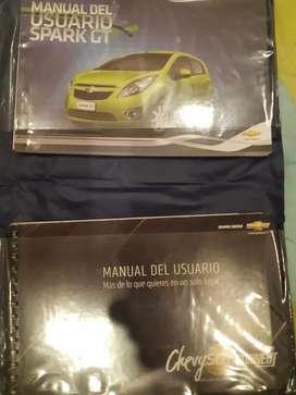 Manual Usuario Original Chevrolet Spark GT y control original