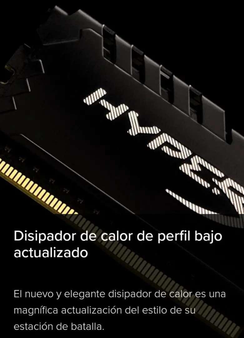 Memorias DDR4 Kingston Hyperx Fury 8 y 16GB - 2666Mhz